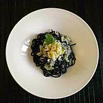 recette Spaghetti noirs, avec sauce au crabe citron et gingembre frais