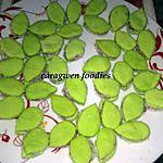 recette petits biscuits feuilles