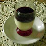 recette panna cotta au coeur de lemon curd et coulis de myrtille