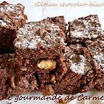 recette Gâteau chocolat-biscottes