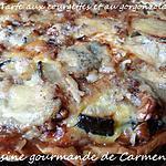 recette Tarte aux courgettes et au gorgonzola