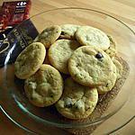 recette Cookies au thé vert et aux pépites de chocolat