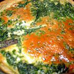 recette petite tarte roquefort epinard