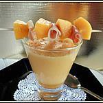 recette gaspacho de melon au madère