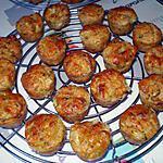 recette Muffins aux courgettes et  tomate séchée