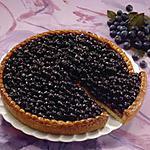 recette La tarte aux myrtilles