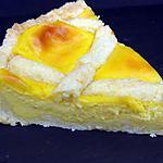recette crostata à la crème au citron