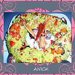 recette Couronne de riz aux fruits de mer et crustacés