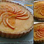 Tarte douce à L'orange