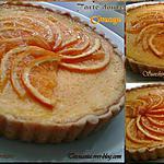 recette Tarte douce à L'orange