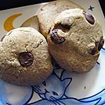 recette Cookies cassonade pépites de chocolat
