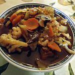 recette Soupe asiatique au poulet
