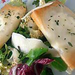 recette salade fromagère au basilic