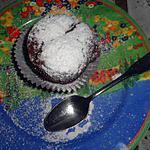 recette Muffins au chocolat noir coeur fondant chocolat blanc