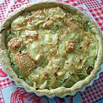 recette Tarte aux oignons et au maroille