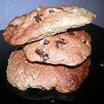 recette cookies facile au pépites de chocolat