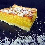 recette Tarte choco blanc - coco