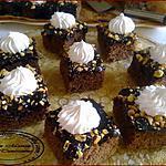 recette Gâteaux au chocolat avec glaçage: