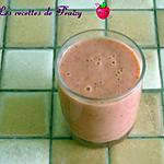 recette smoothie fraises, orange, mangue