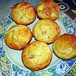 recette Muffins aux lardons et vache qui rit