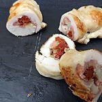 recette roulés de poulet à l'italienne