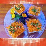 Salade de carottes et radis noir à la japonaise