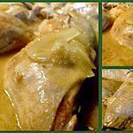 recette Tajine de poulet au citron