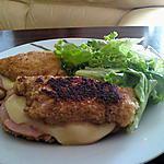 recette Les cordons-bleus bacon/raclette