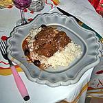 recette GARDIANNE DE TAUREAU