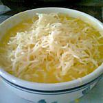 recette soupe ou velouté à l'ail