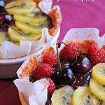 recette Tartelettes au chocolat à la croûte de coco
