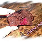 recette Moelleux au chocolat, coeur de framboise