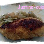 recette Escalope de poulet Milanaise