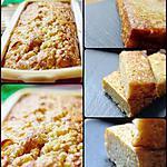recette Cake aux pommes façon Tatin : sans sucre