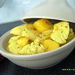recette mini tajine de poulet à la mangue (sucré-salé)