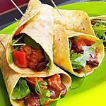 recette Fajitas mexicaine au boeuf