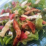 recette Salade au poulet et gorgonzola