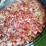 recette Galette de jambon à l'emmental