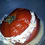 recette Tomates farcies au fromage ail et fines herbes