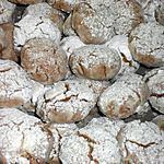 recette ghribia à la noix de coco,graines de sésame et cacahouettes