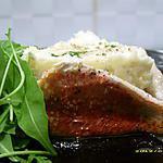recette mini charlotte de filets de rougets poelés à la brandade de morue