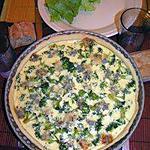recette Tarte aux brocolis et au roquefort
