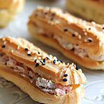recette Eclairs au saumon de Norvège & à la ricotta