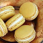 recette Macarons ganache montée à la mangue
