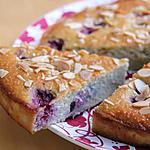 recette Gâteau amandes, framboises & ricotta