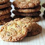 recette Cookies à la pistache, chocolat & piment d'Espelette