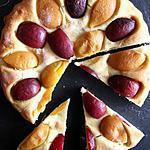 recette Tarte briochée aux fruits