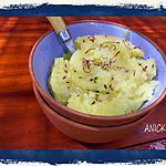 recette Purée de pommes de terre au safran et au sésame
