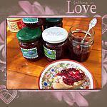 recette Confiture de framboises express