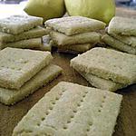recette Biscuits à l'huile d'olive, citron et vanille
